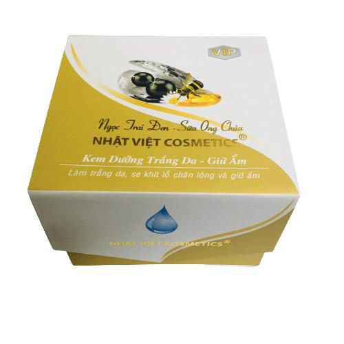 Kem Dưỡng Trắng Da Giữ Ẩm, Ngọc Trai Đen Sữa Ong Chúa - có serum 25g
