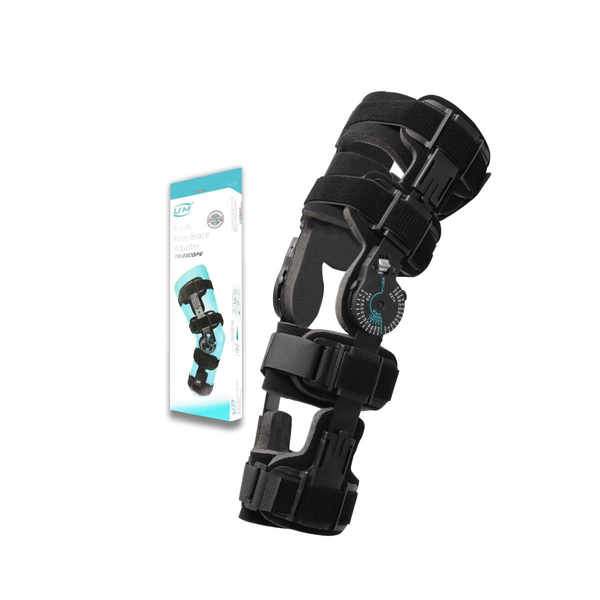Nẹp gối có khóa chỉnh biên độ gập/duỗi sau phẫu thuật dây chằng UM (F11)