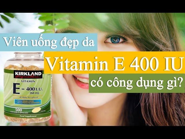 Kết quả hình ảnh cho kirkland vitamin e 400 iu