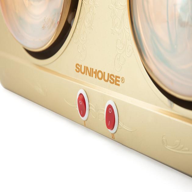 Đèn Sưởi Phòng Tắm Sunhouse SHD3812 (2 Bóng) - Hàng chính hãng