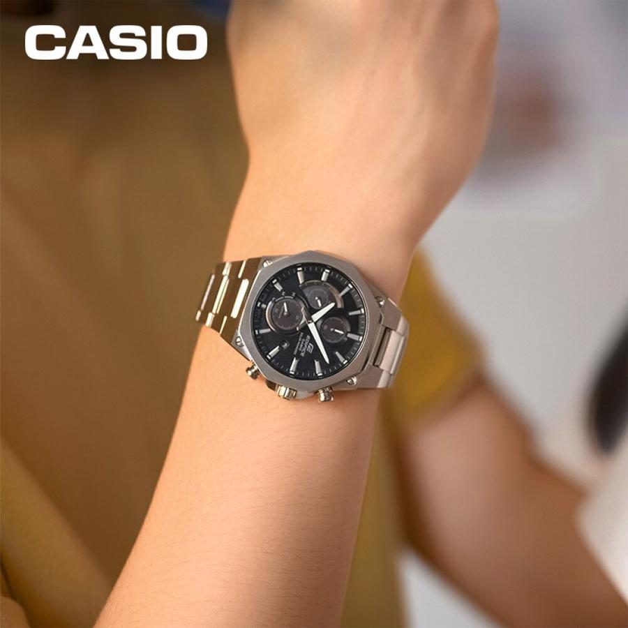 Đồng hồ nam dây kim loại Casio Edifice chính hãng EFS-S570D-1AUDF