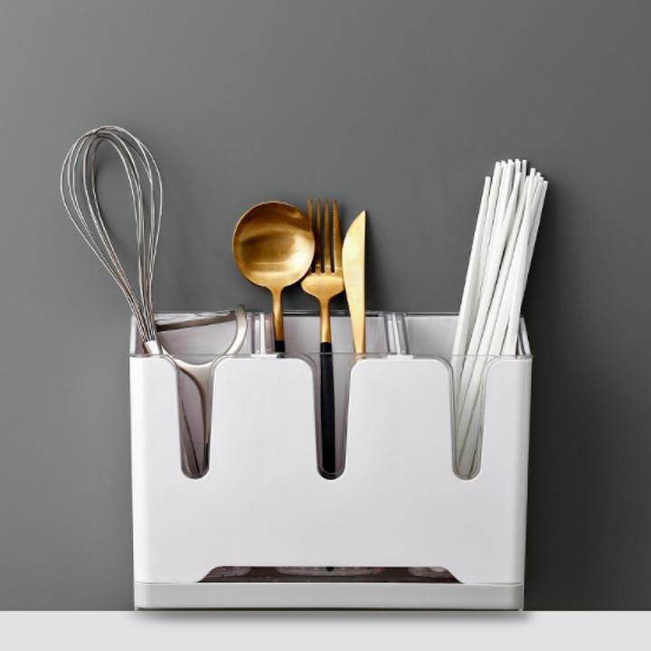 Kệ dao đũa thìa nhà bếp thông minh ( Mầu ngẫu nhiên )