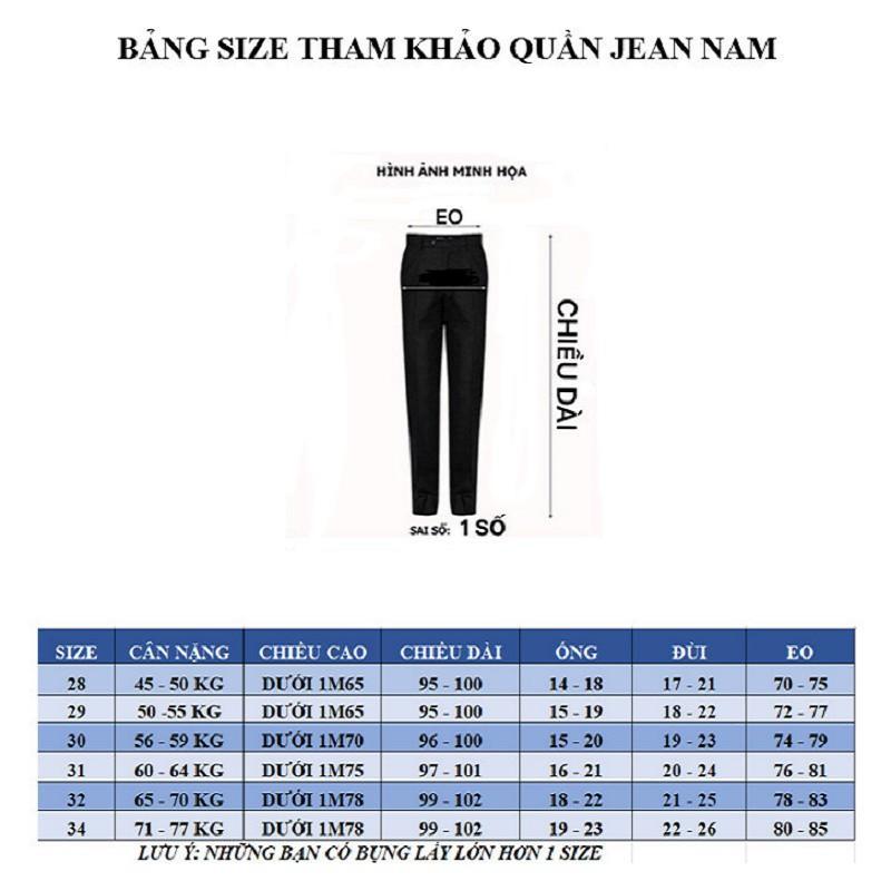 Quần Jean Nam Ống Suông , Quần Bò Nam Cao Cấp Kiểu Mới Hot 2021 ms024
