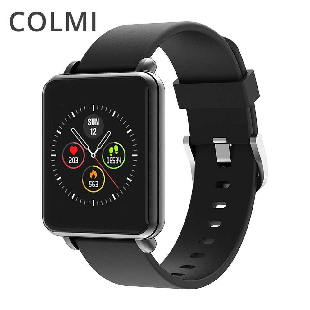 Đồng hồ thông minh Colmi Land 1 (Dây Thép)- CHÍNH HÃNG - ĐEN