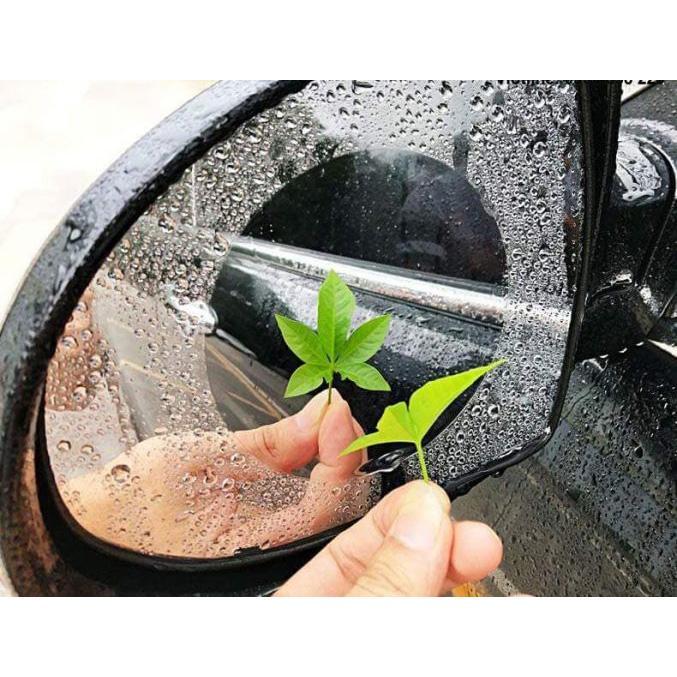 Bộ gồm 2 Miếng dán chống bám hơi nước cho gương chiếu hậu xe hơi (Size 145x100mm)