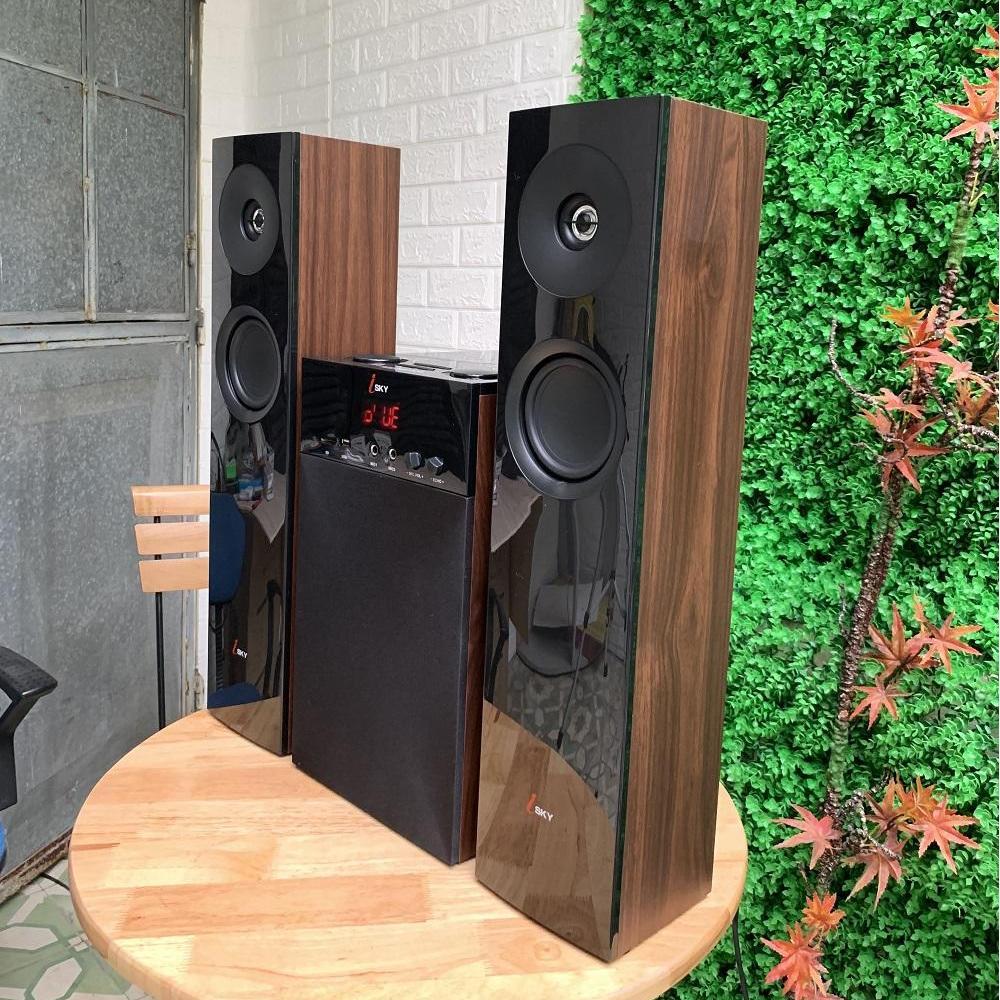 Loa vi tính cỡ lớn  Hát karaoke Isky - SK325  Bass siêu trầm- có kết nối Bluetooth - dàn âm thanh tại gia, dàn karaoke gia đình âm thanh đỉnh cao