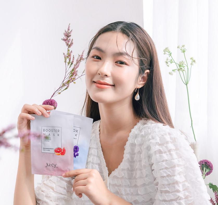 Combo 10 miếng mặt nạ Hàn Quốc Ju:cy Booster Mask