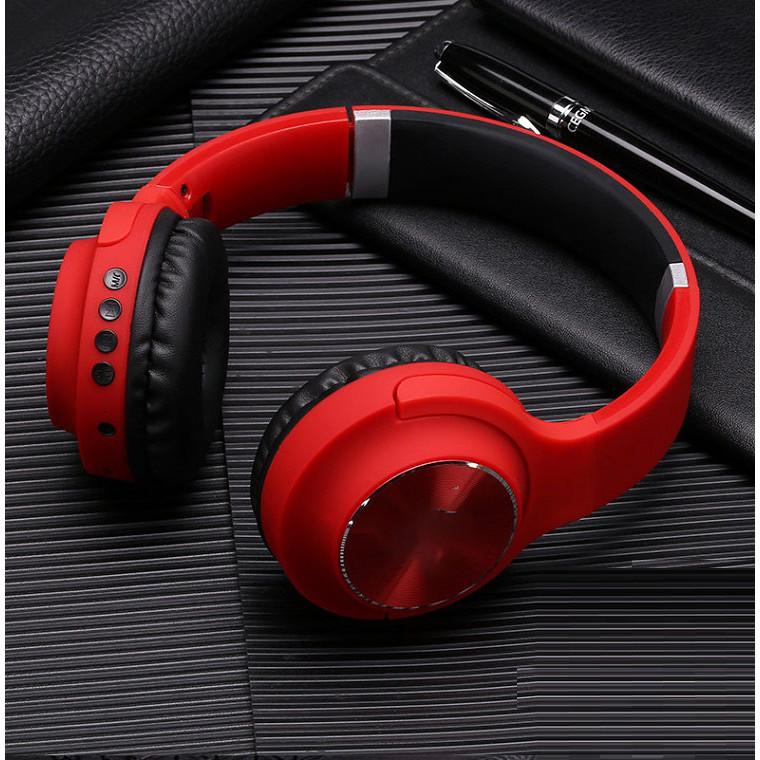 Tai Nghe Bluetooth ST-30 Thiết Kế Hiện Đại, Âm Pass Trầm Mạnh.