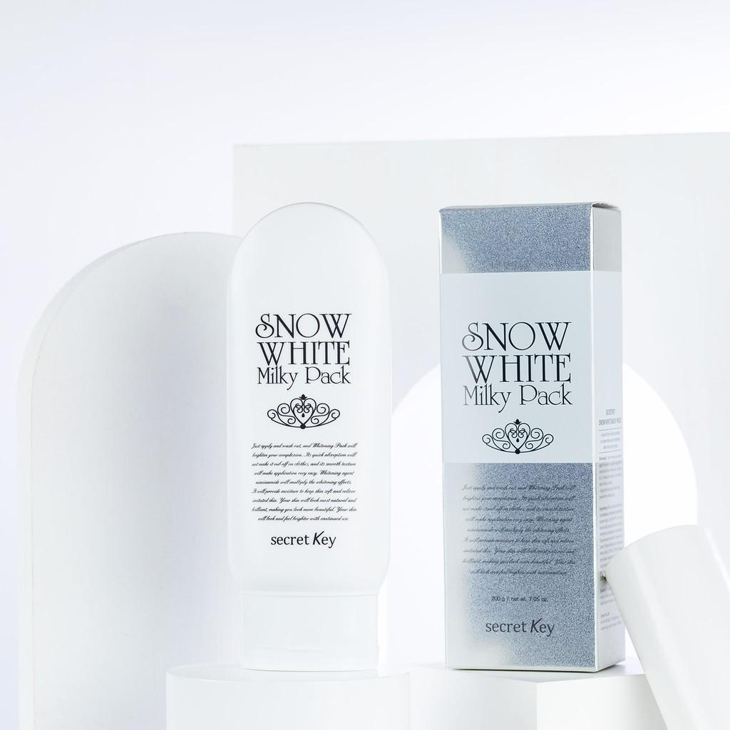 Kem Ủ Trắng Secret Key Snow White Milky Pack (200ml)