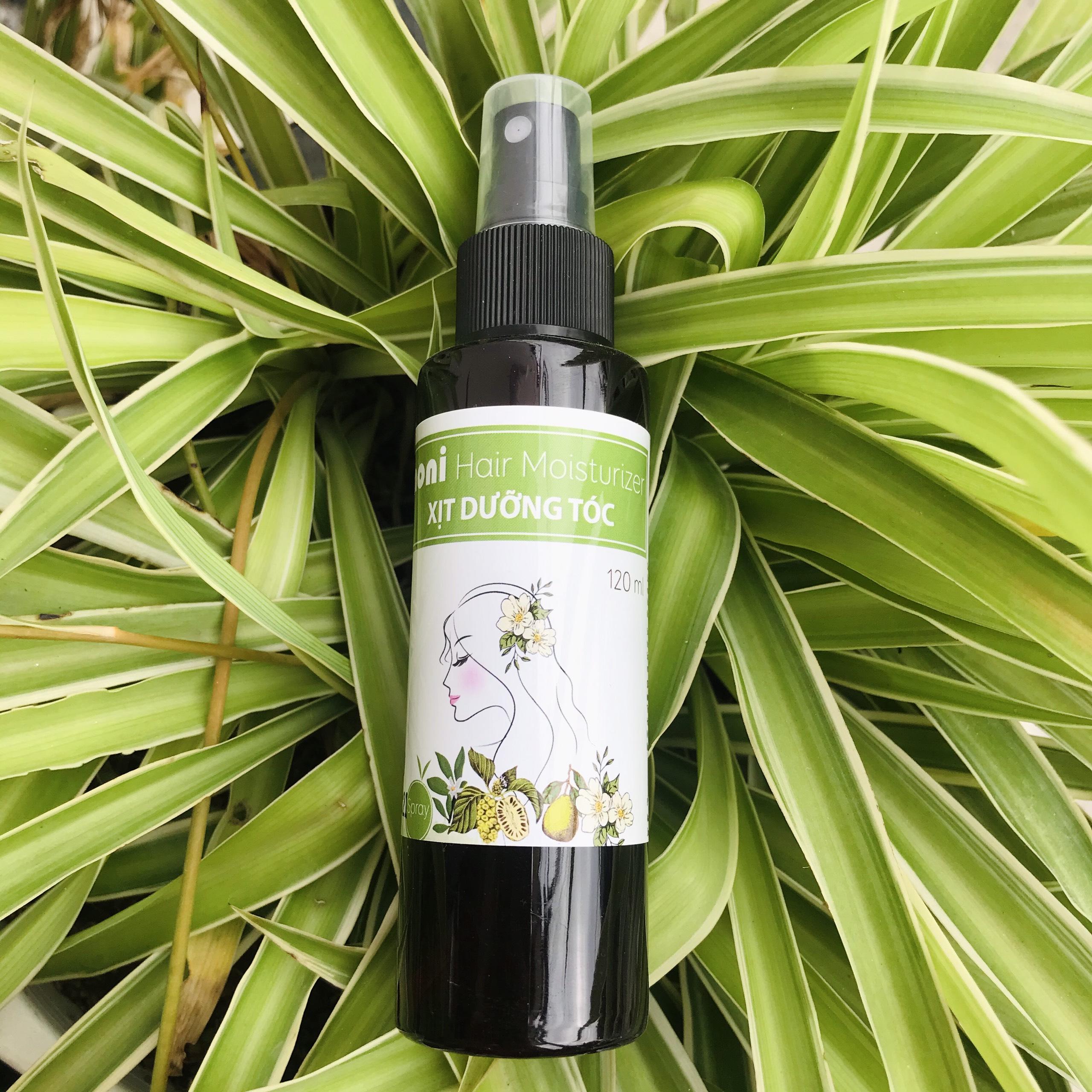Xịt dưỡng tóc vỏ bưởi - Giúp kích thích mọc tóc, giảm rụng tóc an toàn và hiệu quả - Adeva Noni - 120 ml