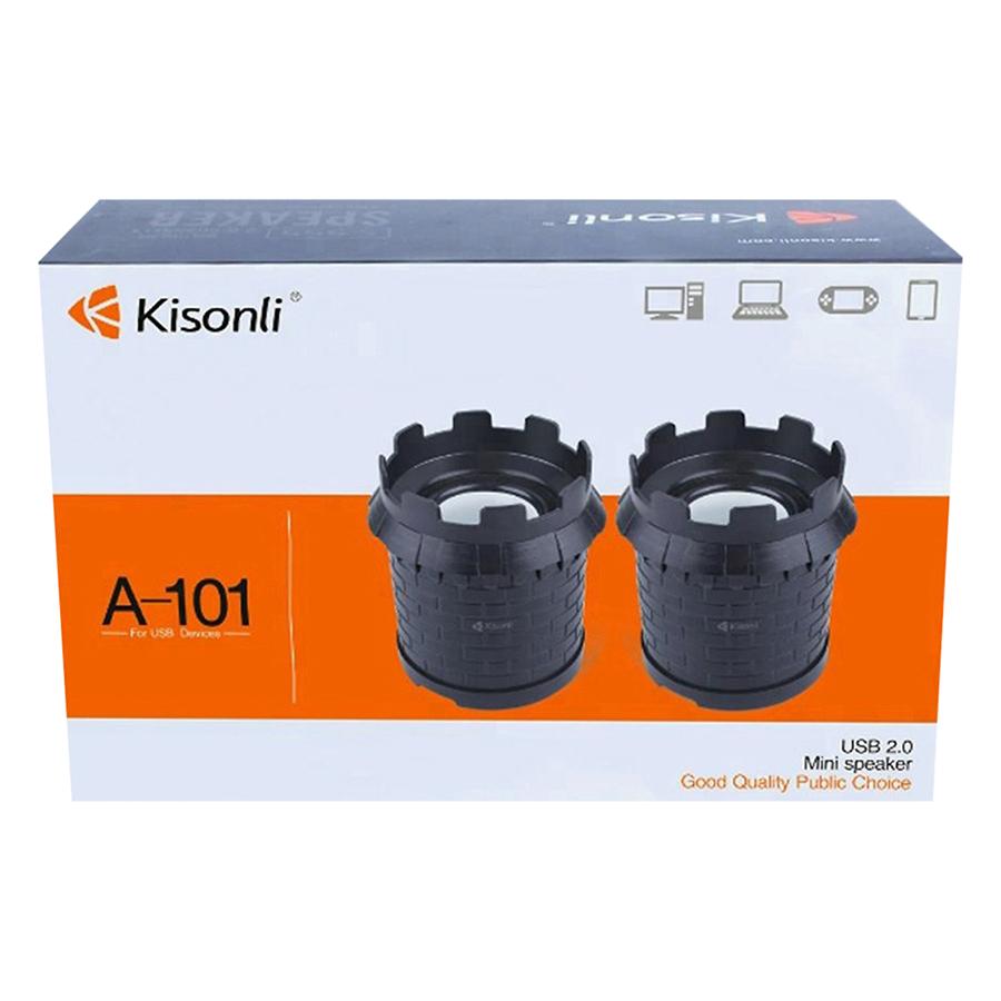 Loa Vi Tính 2.0 Kisonli A-101 - Hàng Nhập Khẩu