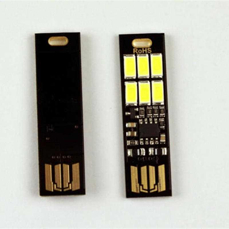 Combo đèn cảm ứng và dây uốn nối dài USB màu ngẫu nhiên