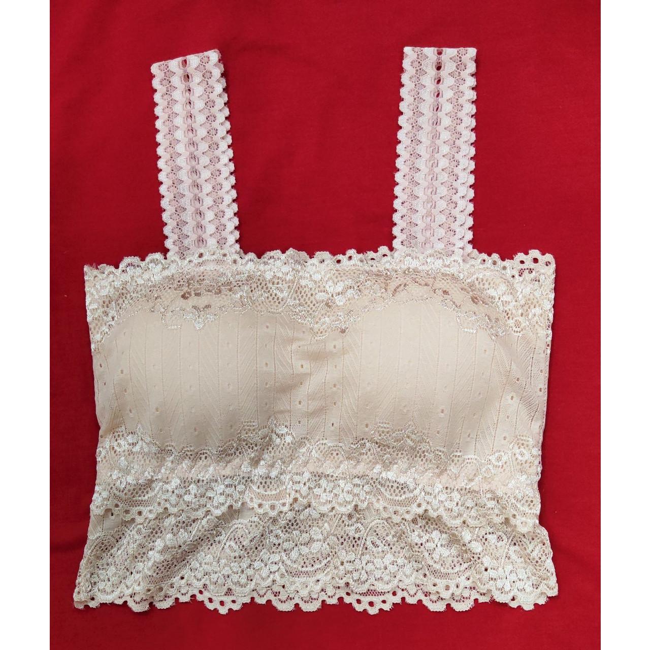 Áo 2 dây ren có mút đệm nâng ngực siêu gợi cảm