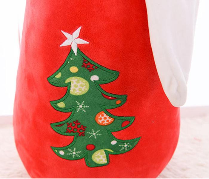 Gối ôm ông già Noel bông - quà tặng giáng sinh thú bông