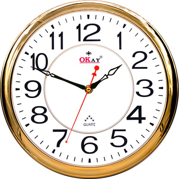 Đồng hồ treo tường thiết kế đẹp OKAY 196