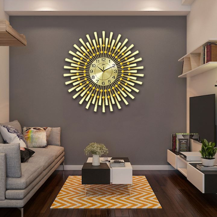 Đồng hồ treo tường thương hiệu BISA size 75cm LM60002_TV75