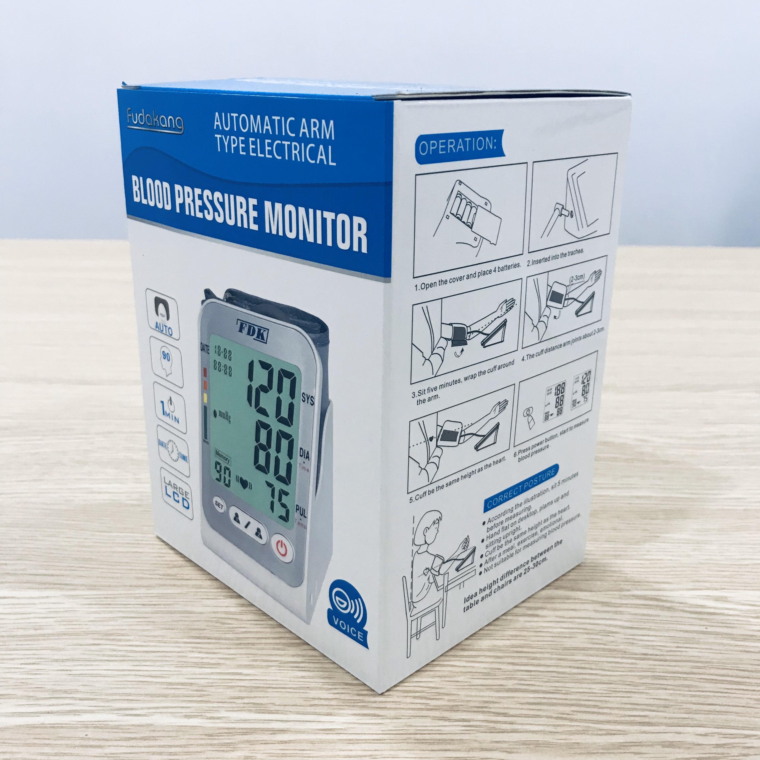Máy đo huyết áp bắp tay FDK FT-C15Y + Tặng Bộ Đổi Nguồn