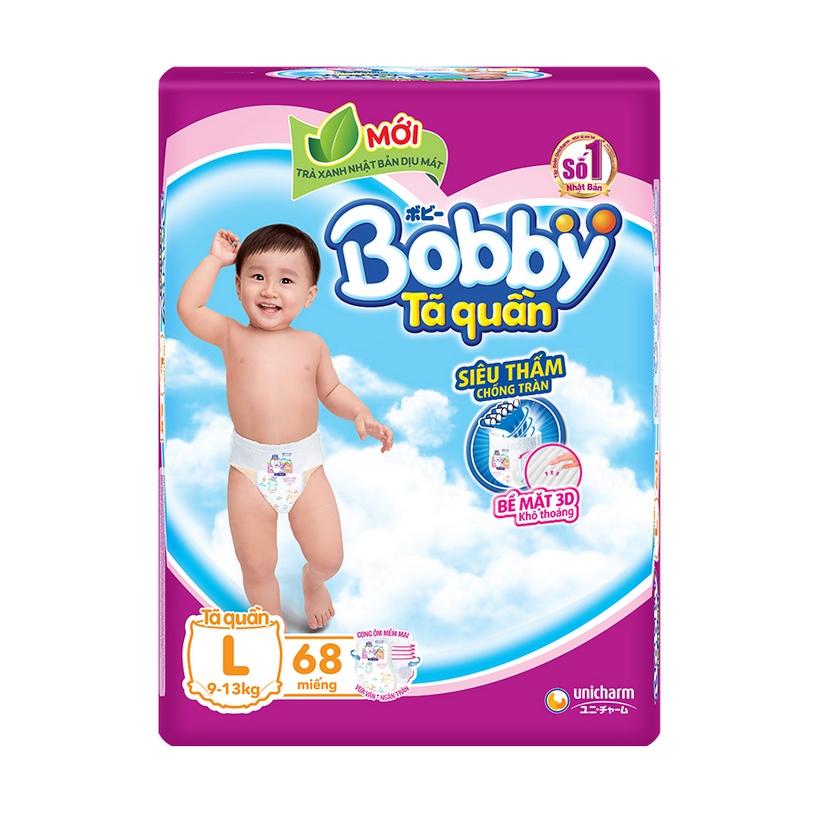 Tã Quần Bobby Fresh Siêu Thoáng  - L68