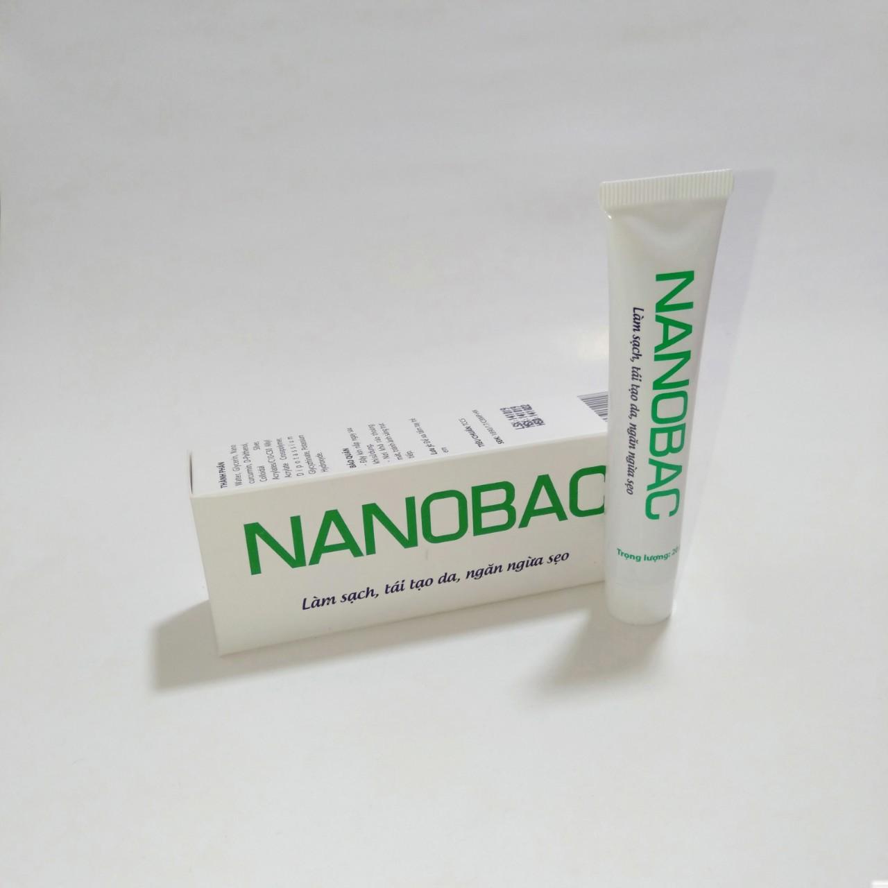 [BỘ SẢN PHẨM] Gel bôi NANOBAC tuýp 20g làm sạch, tái tạo da, ngăn ngừa sẹo  & Kem BOIHAM tuýp 10g giúp giảm hăm, bảo vệ làn da bé yêu của bạn ( hàng chính hãng)