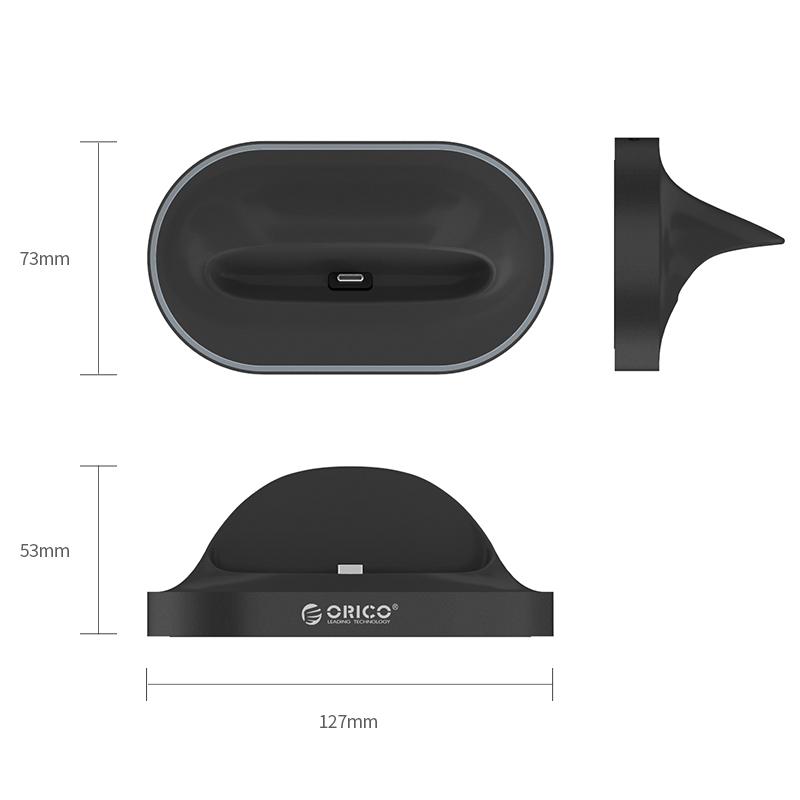 Dock chuyển đổi điện thoại Type C sang Cổng HDMI/2*USB 3.0/TYPE C Orico XC-402- Hàng Chính Hãng