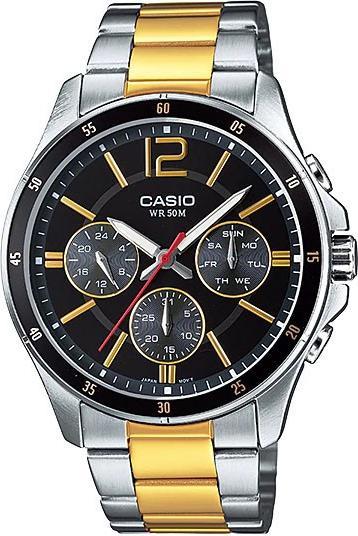 Đồng hồ nam Casio dây thép MTP-1374SG-1AVDF