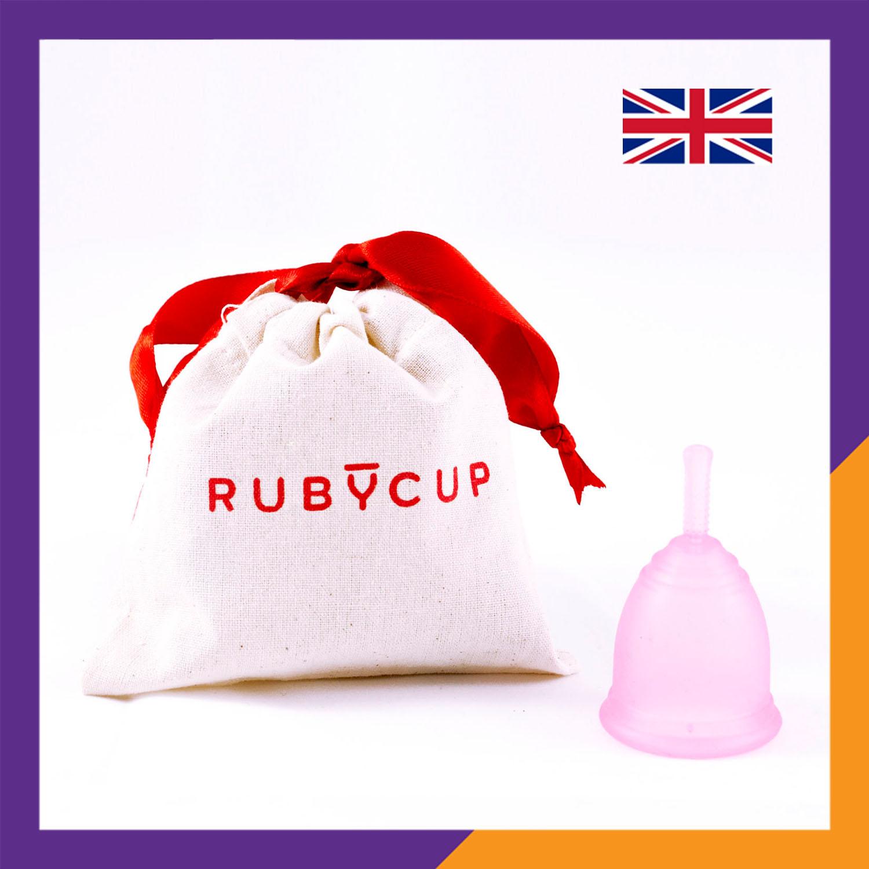 Cốc nguyệt san Ruby Cup dùng thay thế cho Băng vệ sinh – Vật liệu sillicon y tế cao cấp, Độ bền 10 năm, Màu Hồng – Hàng chính hãng, Thương hiệu được yêu thích tại Anh và 36 quốc gia trên thế giới - Ruby Cup Pink
