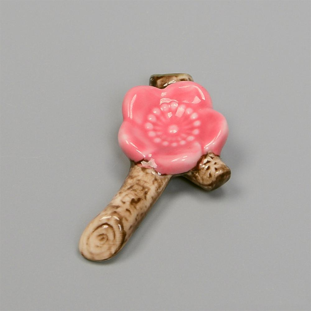 Combo 6 gác đũa bàn ăn gốm sứ hoa anh đào