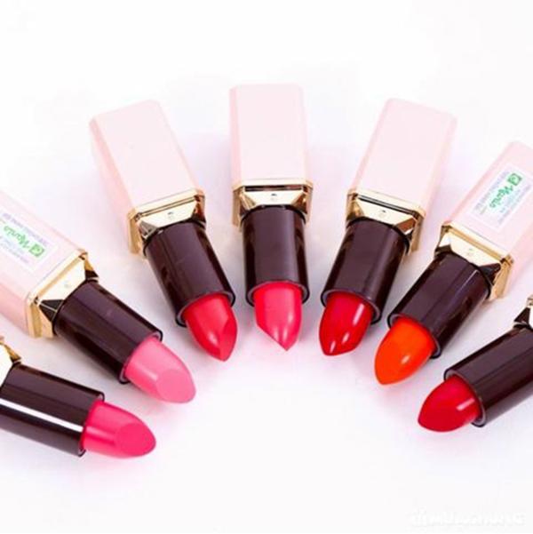 Son thỏi mềm môi Naris Ailus Smooth Lipstick Moisture Rich Nhật Bản 3.7g (#287 Cherry Red) + Móc khóa