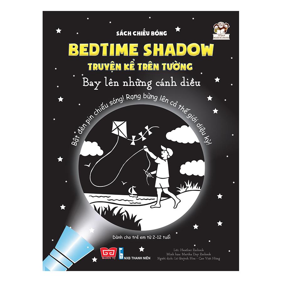 Combo Sách Chiếu Bóng - Bedtime Shadow - Truyện Kể Trên Tường (Tặng Kèm Đèn Pin)