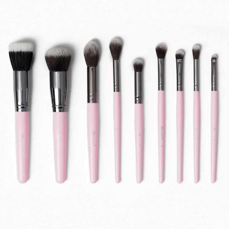 Bộ Cọ Trang Điểm BH Cosmetics Ms Bella 9 Cây