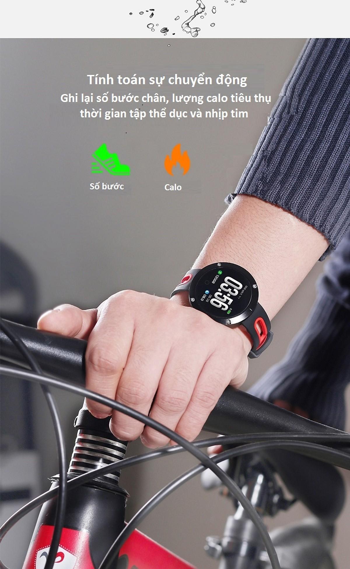 DM-58PLUS Đồng Hồ Thông Minh Nam Nữ Bluetooth Thể Thao Chống Nước Dây Đo Sức Đi Bộ Ngoài Trời