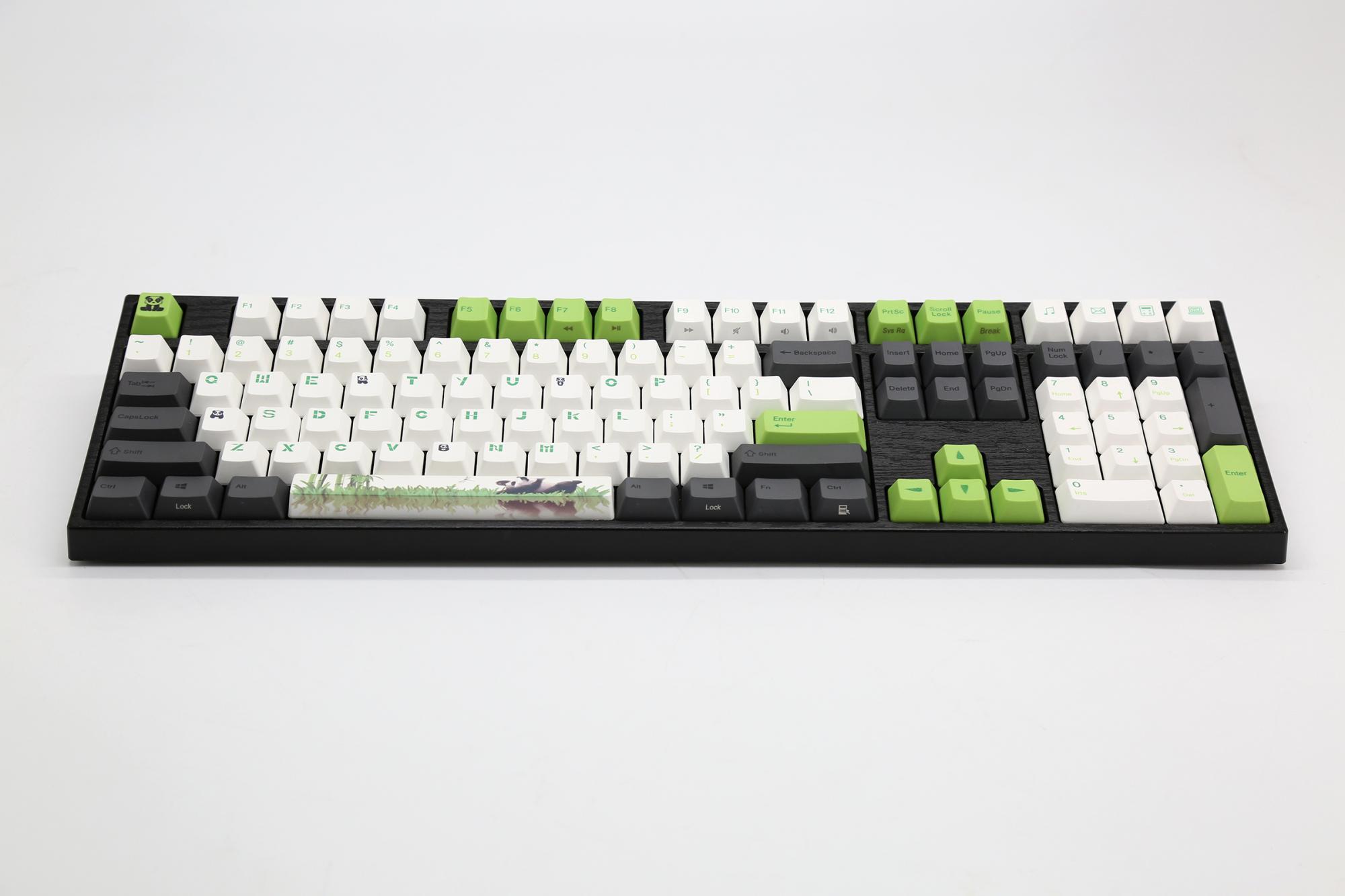 Bàn phím cơ Varmilo VA108M Panda Cherry Switch - Hàng Chính Hãng