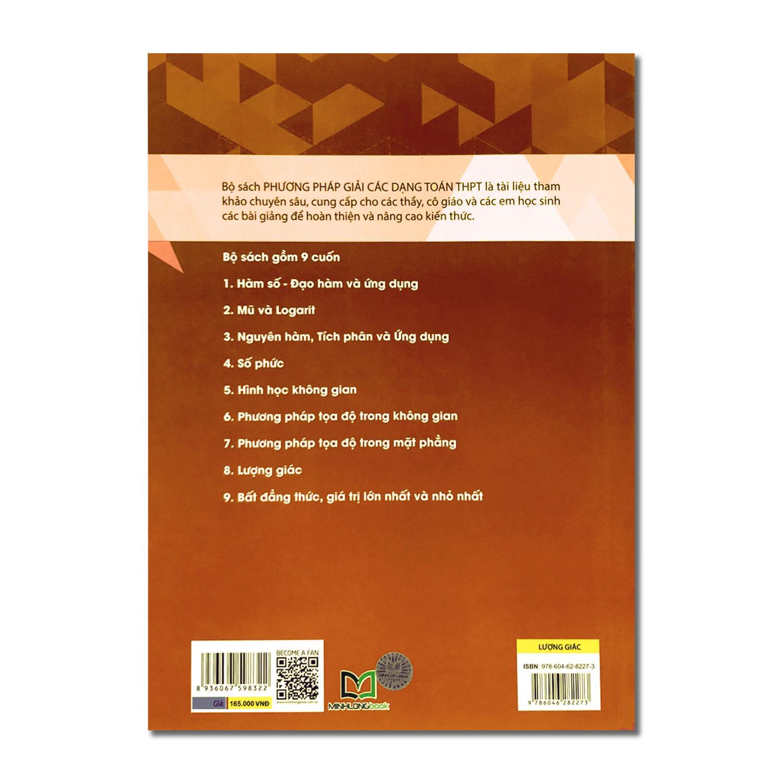 Combo 2 cuốn: Phương pháp giải các dạng Toán THPT - Mũ và Logarit + Lượng giác