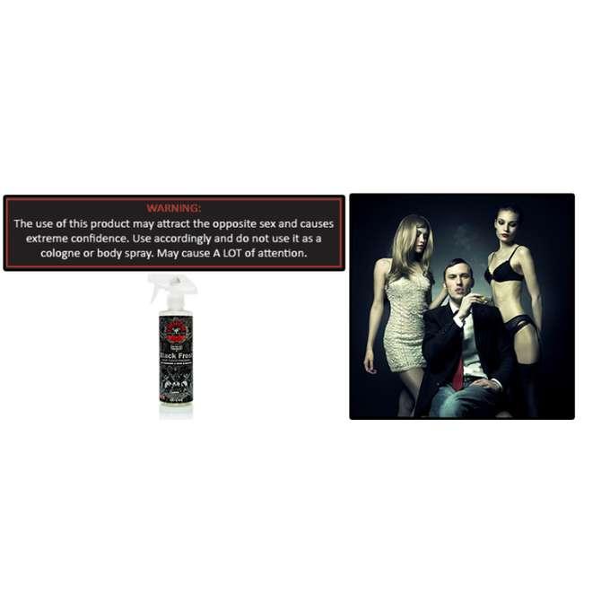 XỊT KHỬ MÙI HƯƠNG THƠM NAM TÍNH RẤT HAY CHEMICAL GUYS BLACK FROST AIR FRESHENER 473ML