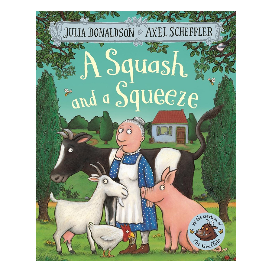 A Squash and a Squeeze (Paperback)