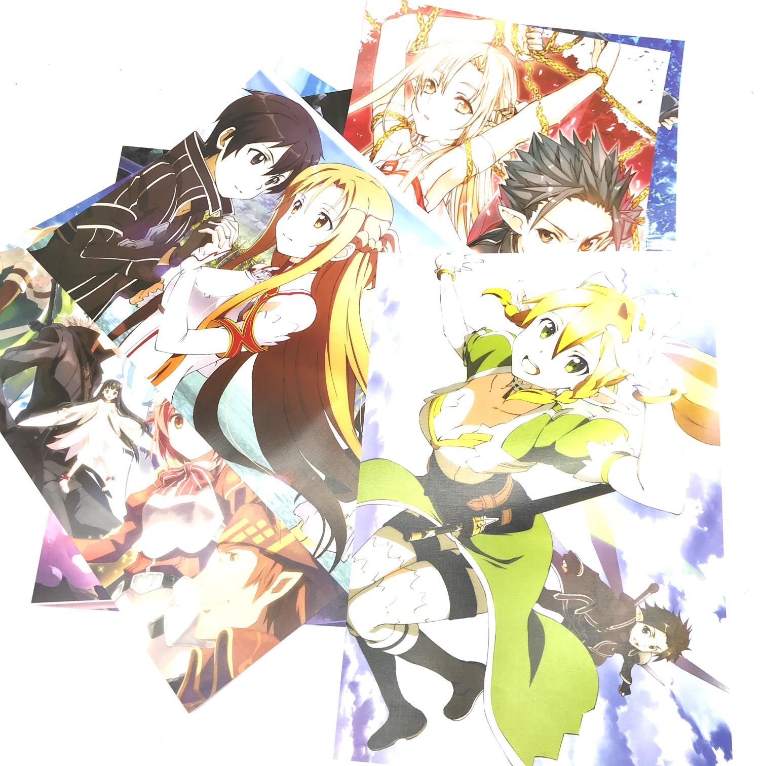 Bộ 8 Poster Sword Art Online