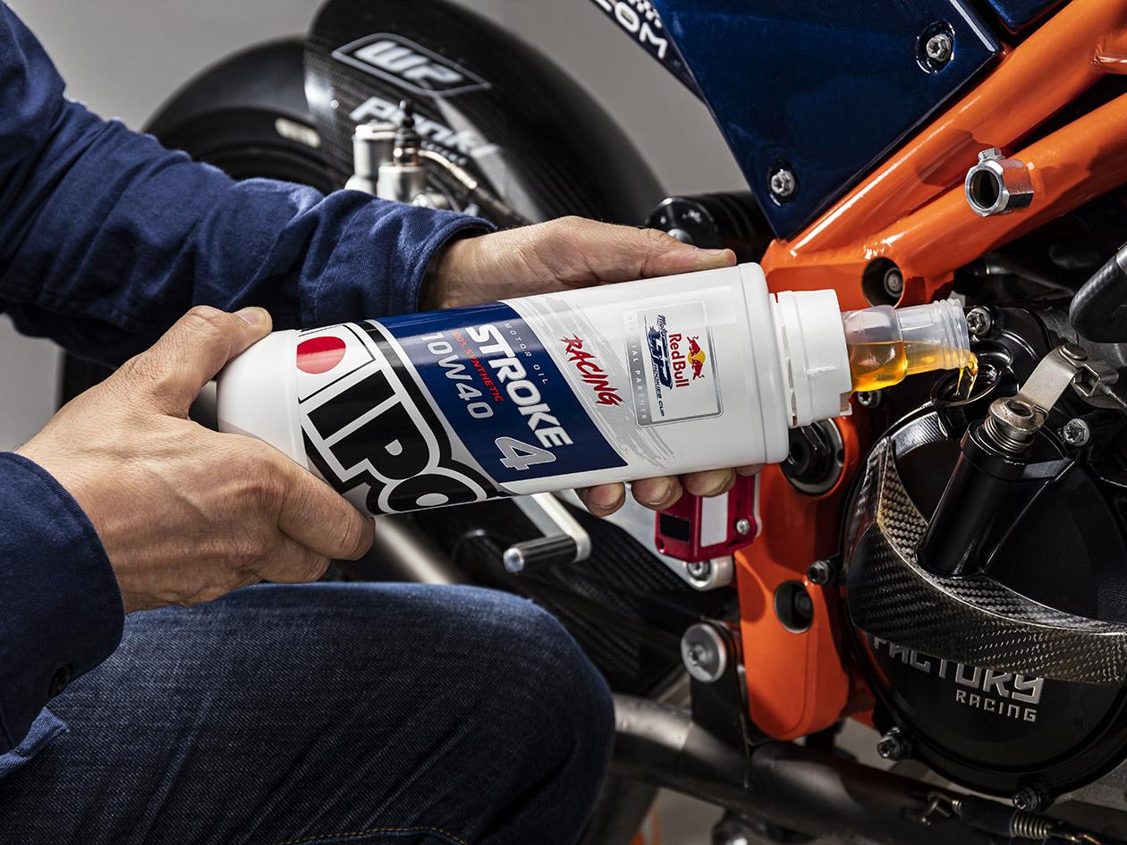 Nhớt Xe Đua Tổng Hợp 4T Ipone Stroke 4 Racing 10W-40 (1L) - Hàng Chính Hãng