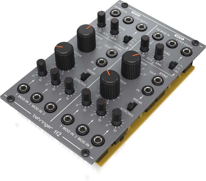 Analog Dual VCO Behringer 112 DUAL VCO- Module for Eurorack-HÀNG CHÍNH HÃNG