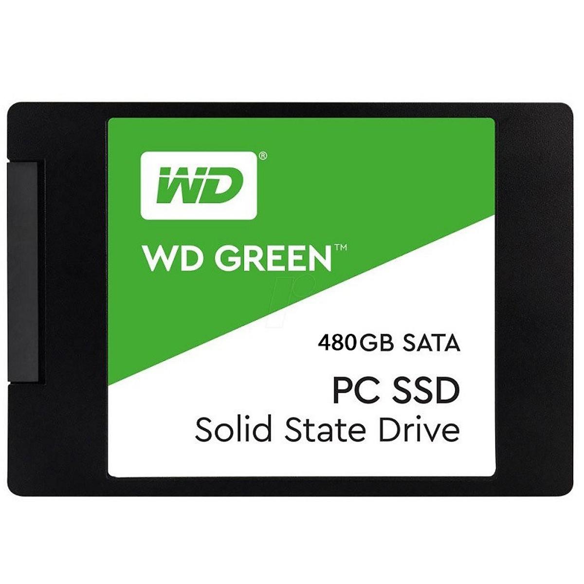 Ổ cứng SSD WD Green 480GB SATA III 2.5 inch - Hàng Nhập Khẩu