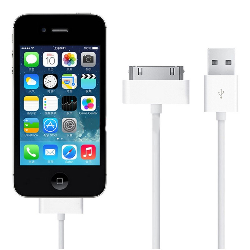 Dây cáp sạc cho iPhone 4 / iPhone 4s - Hàng nhấp khẩu