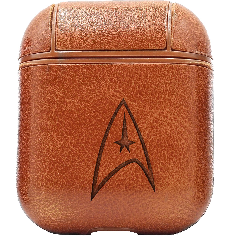 Bao Da Cover Apple Airpods 1 / 2 Premium  Khắc Hình Movie Star Trek
