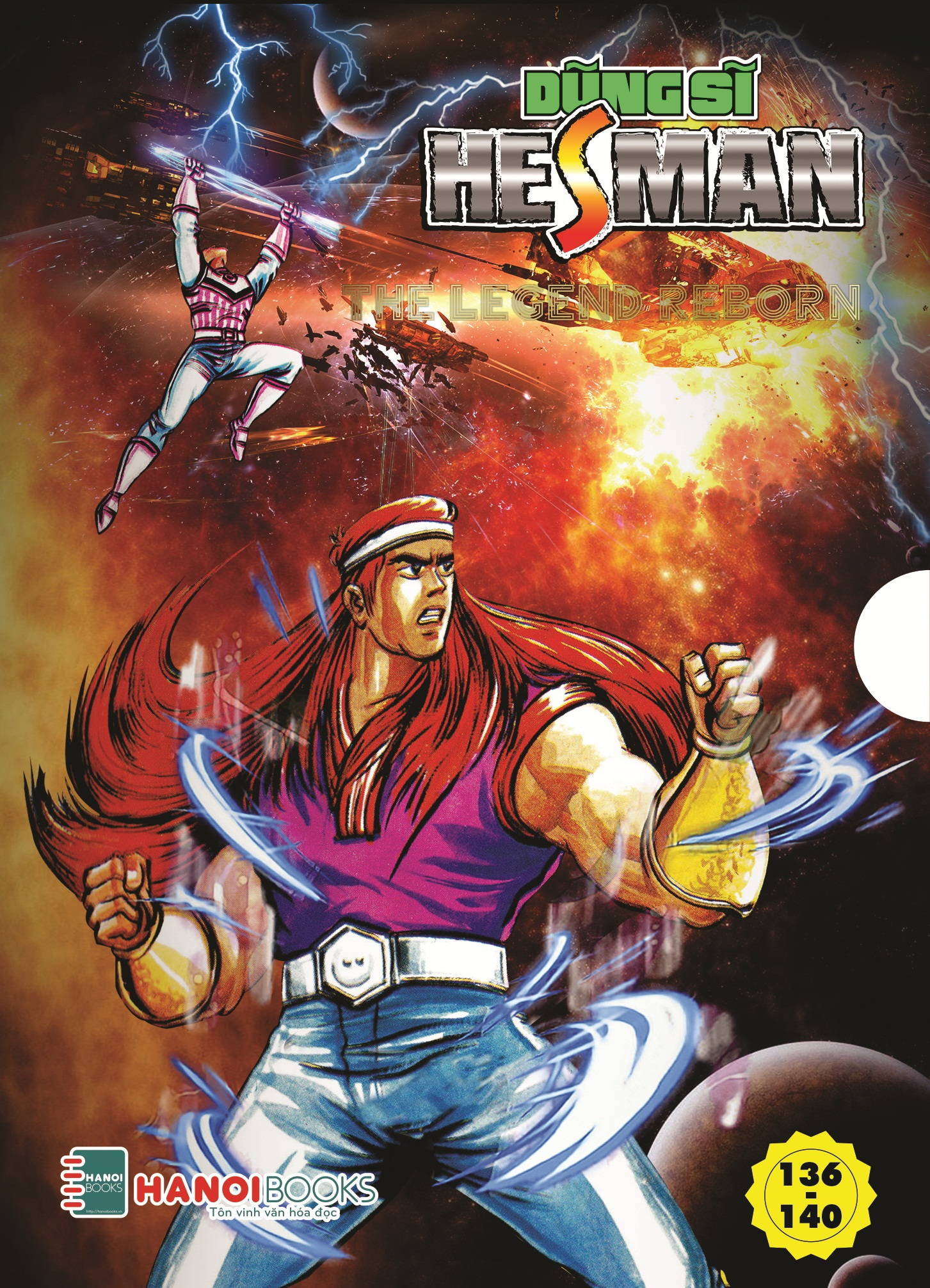 Combo 6 Boxset ( 26,27,28,29,30 ) Dũng Sĩ HesMan.