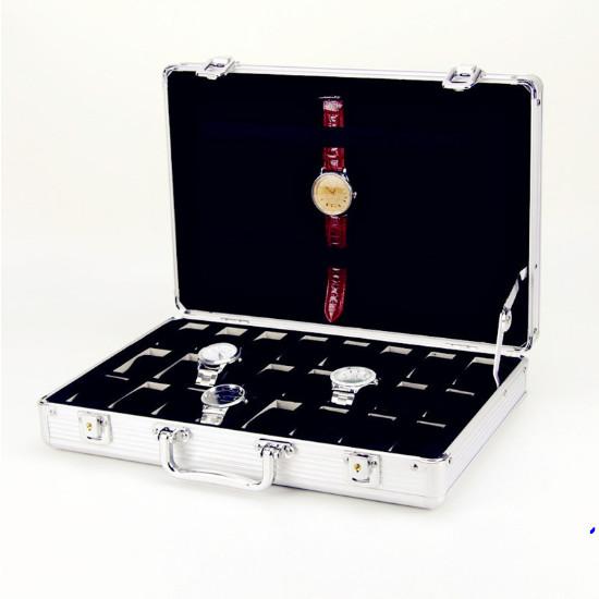 Hộp đựng đồng hồ 24 chiếc cao cấp sang trọng mẫu mới nhất