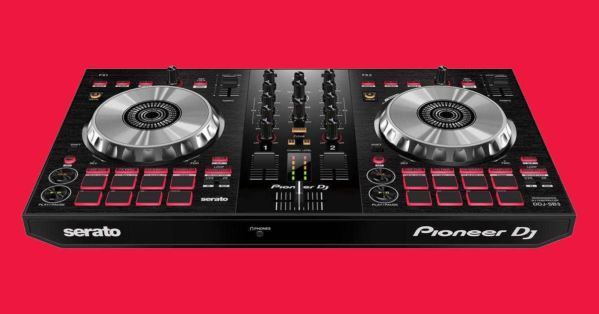 Bàn DJ Pioneer DDJ-SB3 hàng chính hãng new 100%