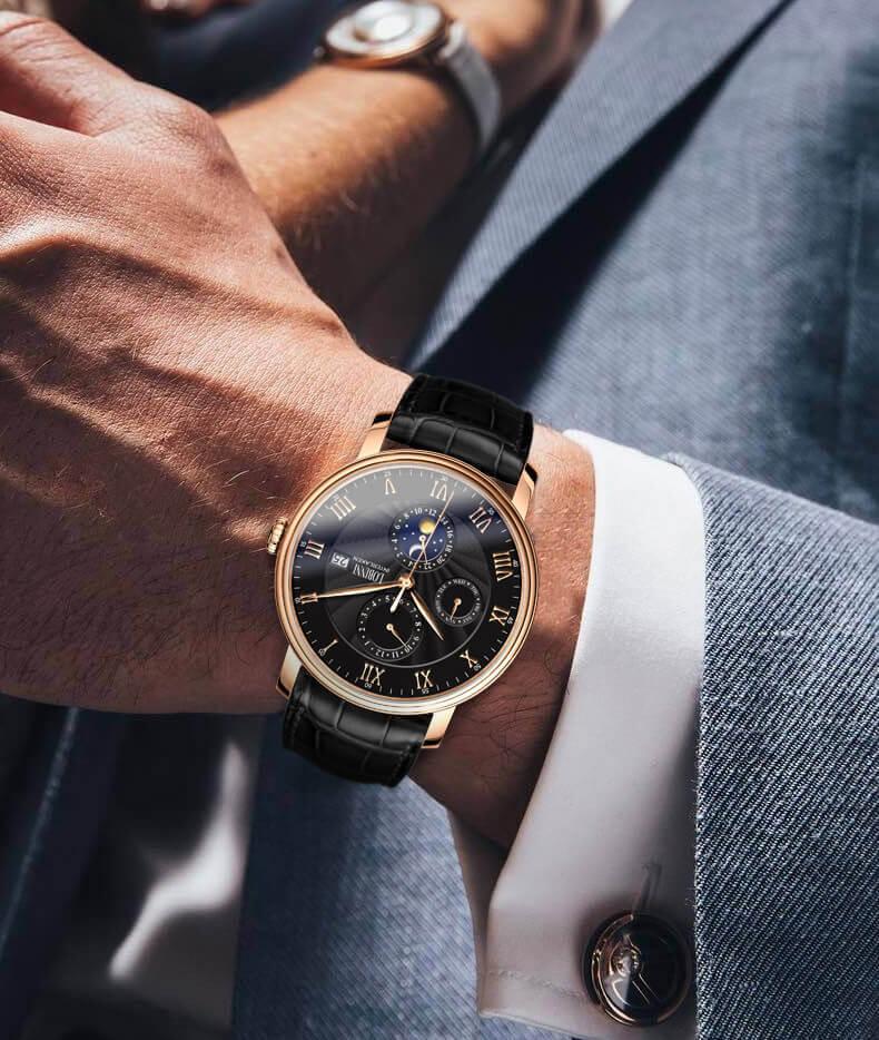 Đồng hồ nam chính hãng LOBINNI L1023-2