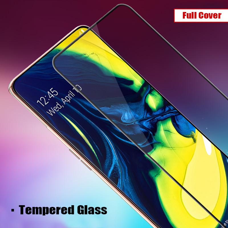 Miếng dán kính cường lực full màn hình 111D cho Samsung Galaxy A80 / A90 hiệu HOTCASE (siêu mỏng chỉ 0.3mm, độ trong tuyệt đối, bo cong bảo vệ viền, độ cứng 9H) - Hàng nhập khẩu