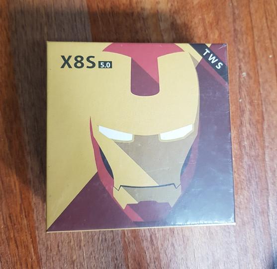 Tai Nghe Bluetooth X8S Không Dây Kèm Hộp Sạc