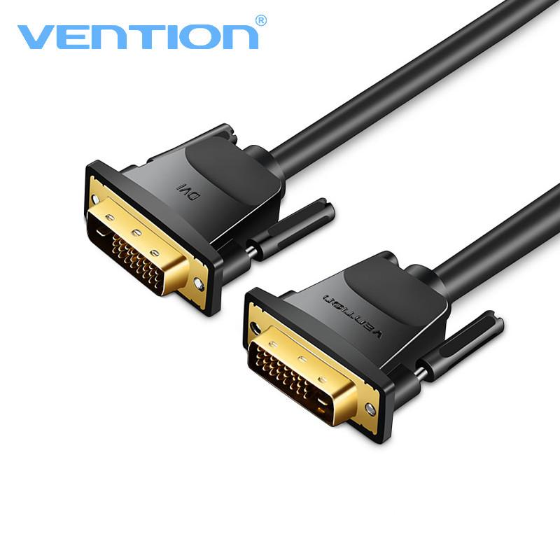 Cáp DVI(24+1) tròn dài 1.5m Vention - Hàng chính hãng