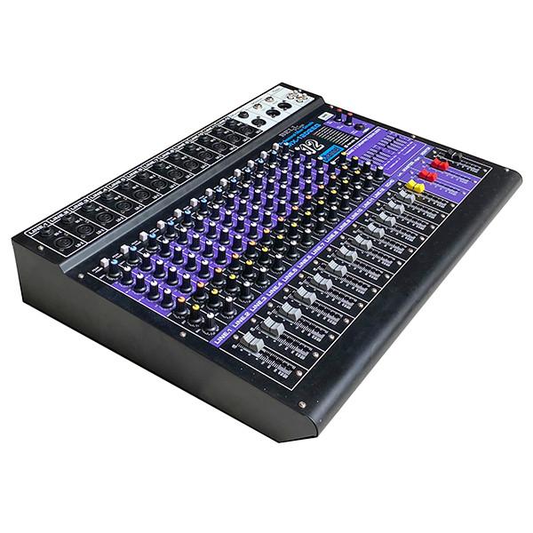 Mixer hay còn gọi là bàn trộn nhạc cho karaoke và nghe nhạc MX - 1202 EQ BellPlus (hàng chính hãng)