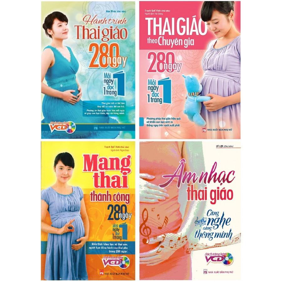 Combo thai giáo (bộ 4 cuốn)